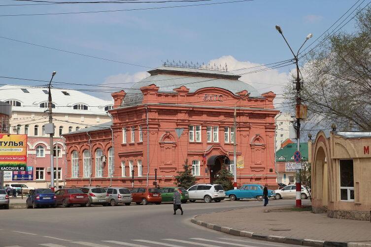Здание биржи, сейчас в этом здании располагается городской загс