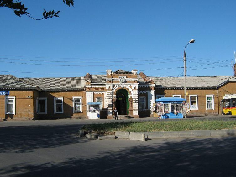 Железнодорожный вокзал Покровск