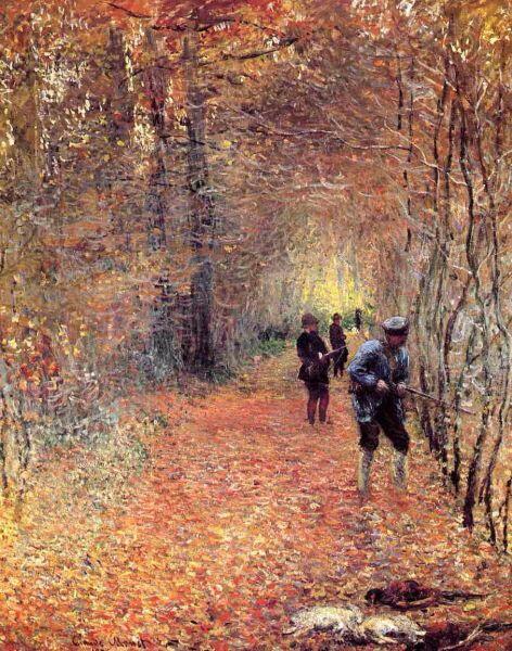 Клод Моне, «Охота (Выстрел)», 1876 г.