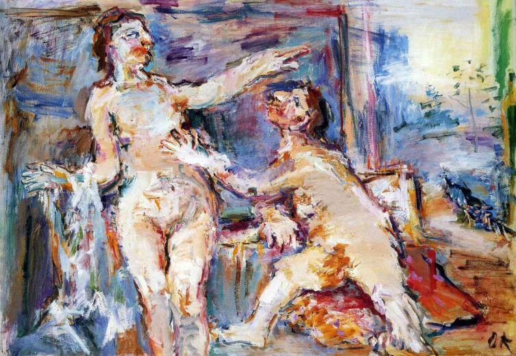 Оскар Кокошка, «Отвергнутый любовник», 1966 г.
