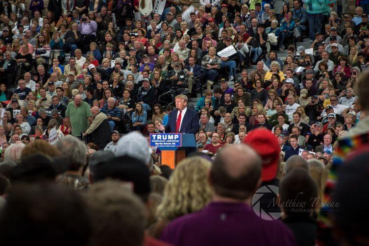 Президентская кампания Дональда Трампа, Южная Каролина