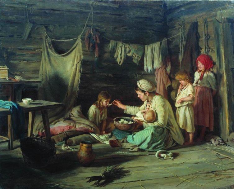 К. В. Лемох, «Выздоравливающая», 1889 г.