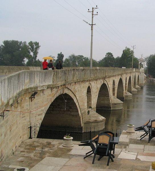 Мост через реку Тунджа