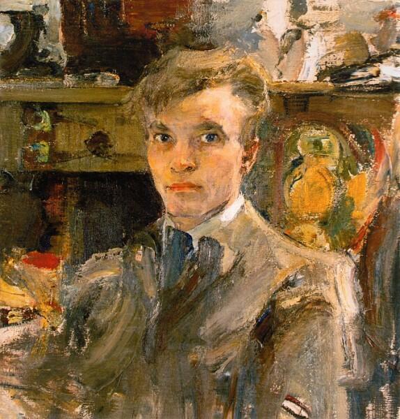 Н. И. Фешин, «Автопортрет», 1920 г.