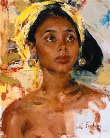 Н. И. Фешин, «Девочка с острова Бали», после 1938 г.