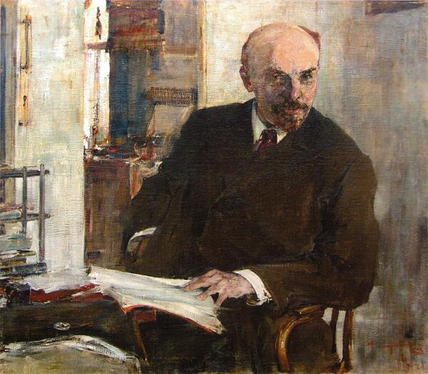 Н. И. Фешин, «Портрет В.И.Ленина», 1918 г.