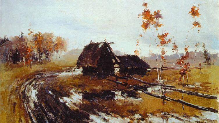 Н. И. Фешин, «Осень», 1900-е гг.