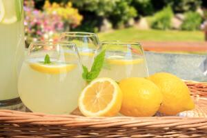 Как сделать домашний лимонад?