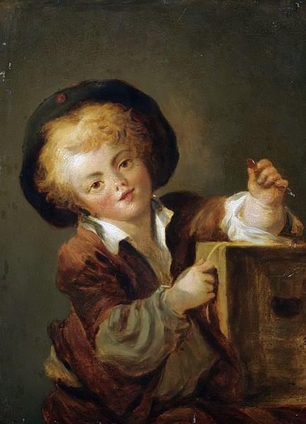 Жан Оноре Фрагонар, «Мальчик с диковинкой»