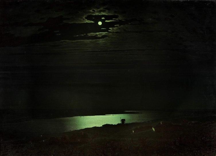 Архип Куинджи, «Лунная ночь на Днепре», 1880 г.