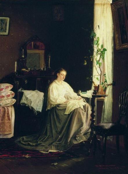 В. М. Максимов, «Мечты о будущем», 1868 г.
