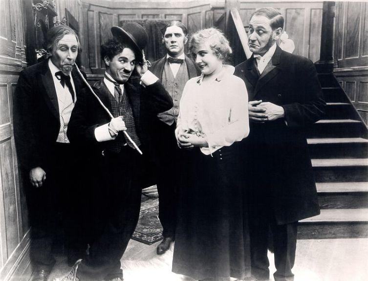 Чарльз Чаплин -