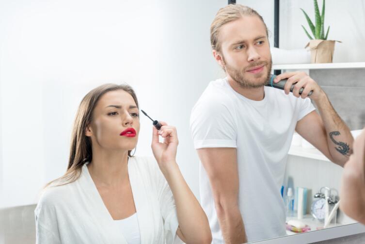 основные покупатели косметики для сильного пола — мужчины, которым за тридцать лет
