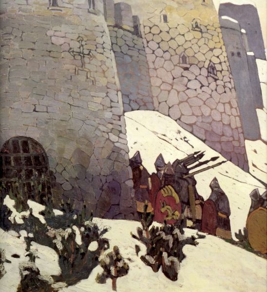 Н. К. Рерих, «Дозор», 1905 г.