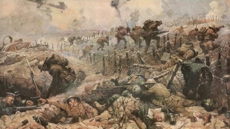 Фрэнк Эрл Шуновер, «Великая война. Штурм линии Гинденбурга»