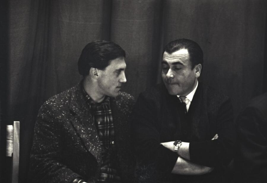 В. Высоцкий и М. Анчаров, 1966 г.