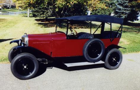 Первый автомобиль марки Citroën. Type A Torpedo, 1921 год