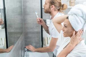 Как визуально расширить пространство ванной комнаты?