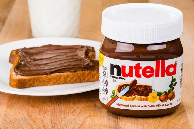 Как появилась шоколадная паста «Нутелла»?