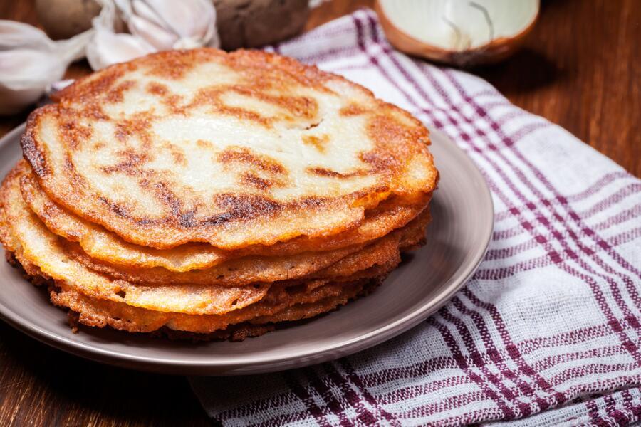 Как приготовить картофельные блины?