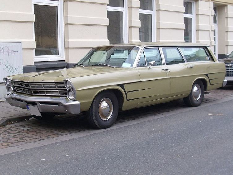 Ford Ranch Wagon 1967 г. выпуска