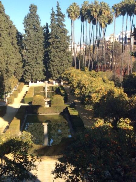 Сады Алькасара