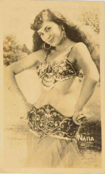 Айше Нана, старая турецкая открытка