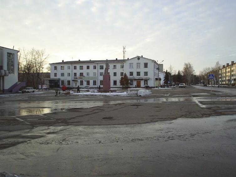 Площадь имени Ленина в Нововоронеже