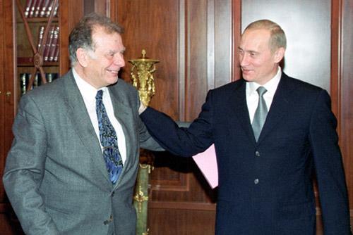 Жорес Алферов и Владимир Путин