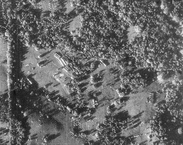 Снимок ракет с американского самолёта-разведчика. 14 октября 1962 г.