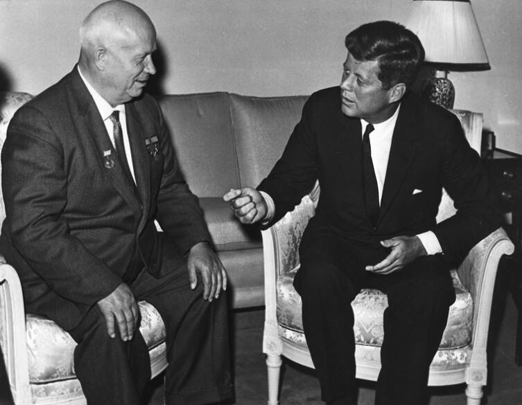 Разговор Н. Хрущева и Д. Кеннеди