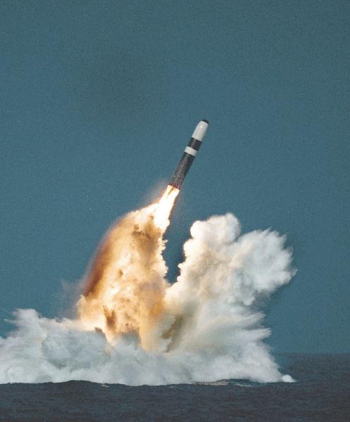 Запуск ракеты Трайдент II (D5)