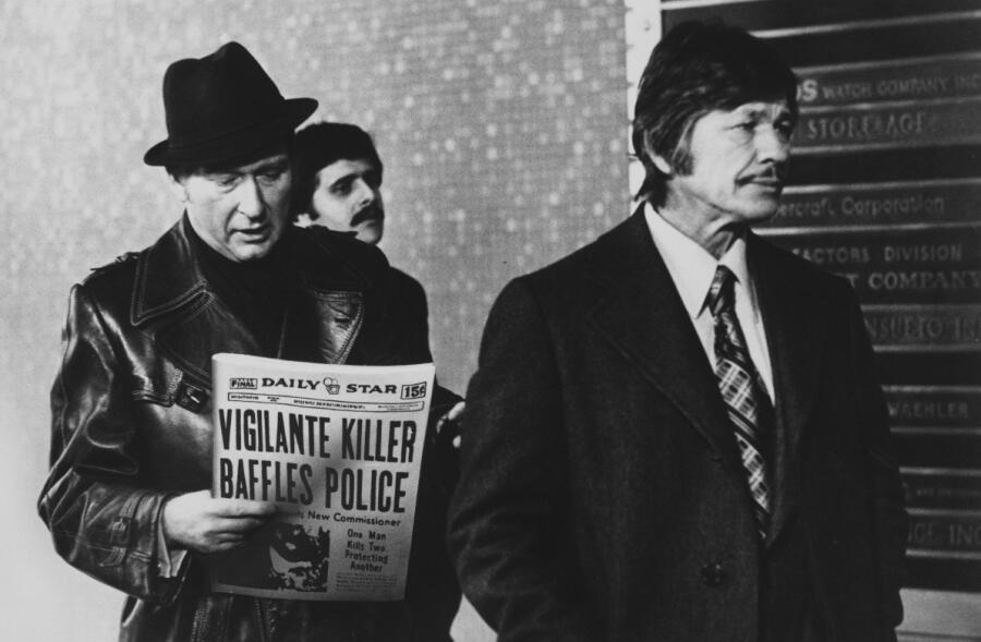 Кадр из фильма «Жажда смерти», 1974 г.