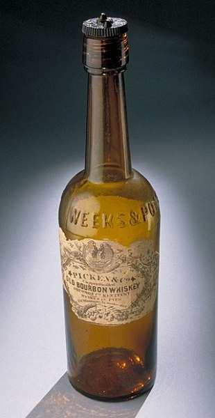 Бутылка бурбона, XIX в.