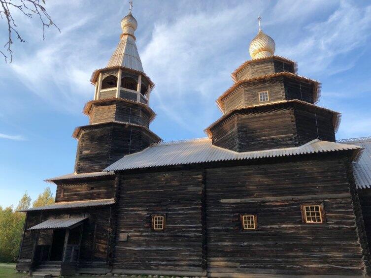 Деревянная церковь, Витославлицы
