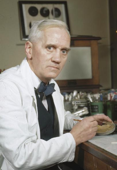 Александр Флеминг, изобретатель пенициллина