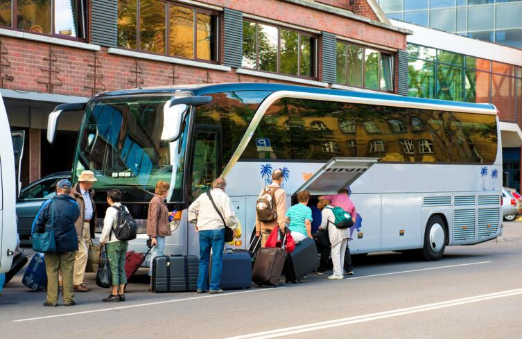 Междугородние автобусы также находятся в зоне риска