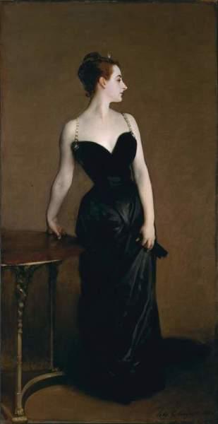 Джон Сарджент, «Портрет мадам Икс», 1884 г.