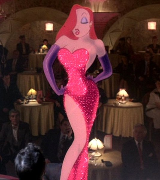 Кадр из фильма «Кто подставил кролика Роджера», 1988 г.