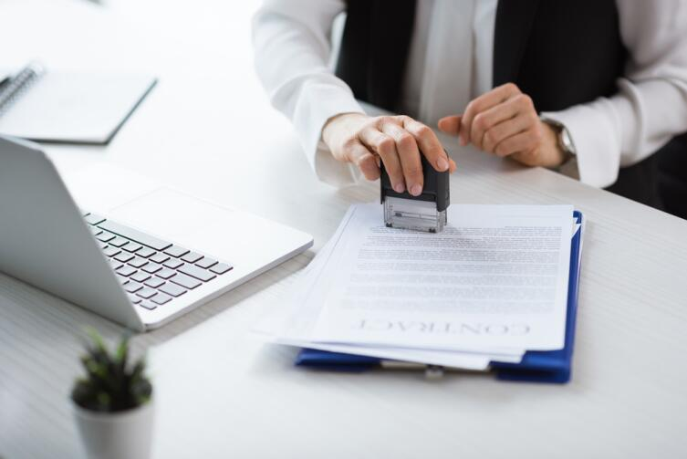 Обратите внимание, что не все строки заполняются в электронном виде, допустимо и ручное заполнение договора
