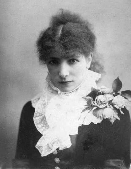 Сара Бернар, 1890 г.