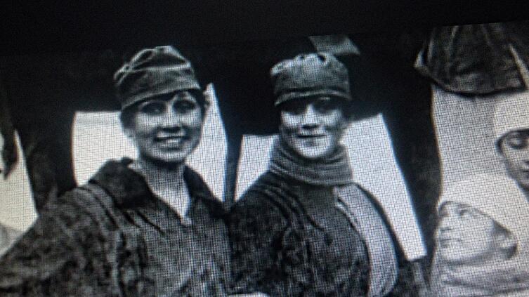 Дочери русских офицеров в Стамбуле