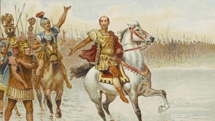 Цезарь переходит Рубикон