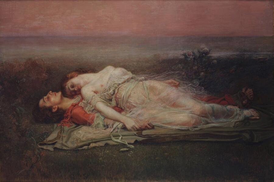 Рохелио де Эгускуиза, «Тристан и Изольда», 1915 г.