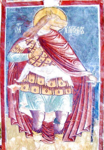 Мученик Христофор. Успенский монастырь города Свияжска, Татарстан