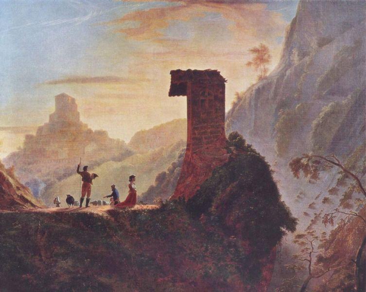 Сэмюэл Финли Бриз Морзе, «Капелла Девы Марии близ Субъяко», 1830 г.