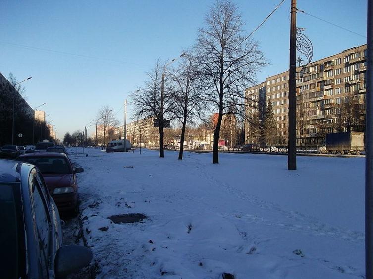 Софийская улица в Санкт-Петербурге