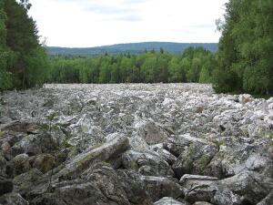Как появляются каменные реки?