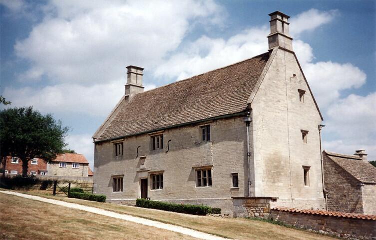 Дом, в котором родился Ньютон в Вулсторпе