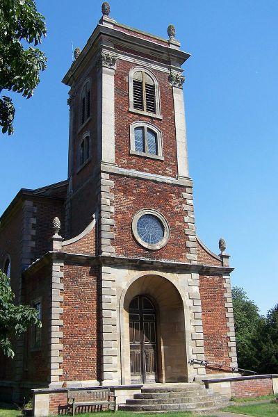 Вилленская церковь, построенная по проекту Роберта Гука